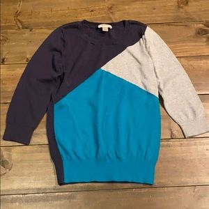 ⭐️Loft Colorblock Sweater